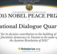 International acknowledgement to Tunisia : The Nobel Peace Prize 2015 to the National Dialogue Quartet.