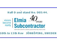 Exhibition at Elmia Subcontractors 2015